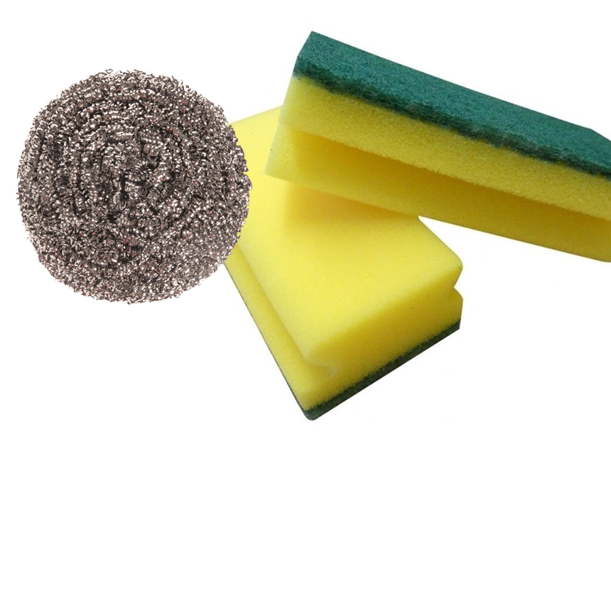 Cloths , Sponges & Scourers